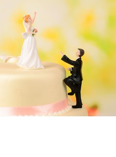 Classic Couple Resin Wedding Cake Topper (119054553)