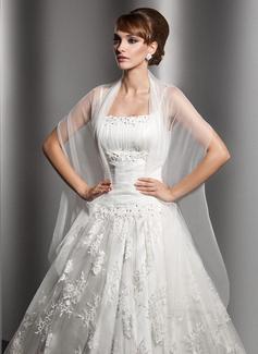 Tule Casamento Xales (013014582)