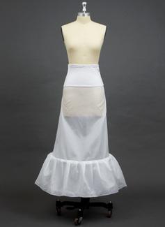 Women Polyester/Spandex Floor-length 1 Tiers Petticoats (037033968)
