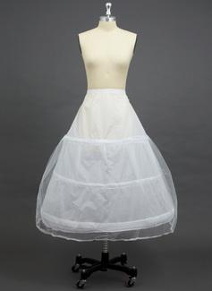 Women Tulle Netting/Polyester Floor-length 2 Tiers Petticoats (037033973)