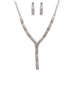 Элегантные сплав/Стразы женские Комплекты ювелирных изделий (011027603)