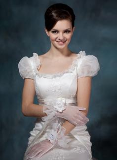 Вуаль Наручные длина Партии/мода перчатки/Свадебные перчатки (014020512)