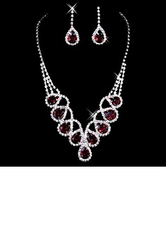 Gorgeous Alloy With Rhinestone Ladies' Jewelry Sets (011006984)