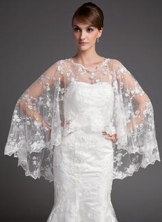 Tulle Wedding Wrap (013016761)