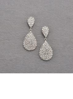 Mode Legierung mit Kristall Damen Ohrringe (011027292)