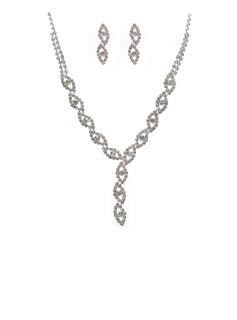 великолепный сплав/Стразы женские Комплекты ювелирных изделий (011027612)