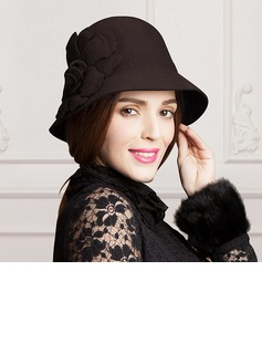 Ladies' Classic Wool Bowler/Cloche Hat (196075360)