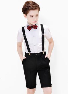 Ragazzi 4 pezzi Stile Formale Abiti per Paggetti /Page Boy Suits con Camicia ciclo continuo Bretella Pantaloncini (287204945)