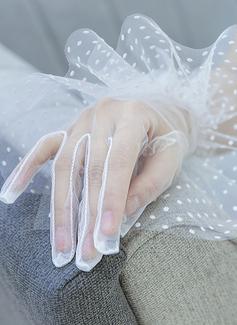 Тюль/Кружева локоть длина Свадебные перчатки (014200778)