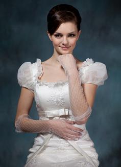 Voile Elbow Lengte Party/Mode Handschoenen/Bruids Handschoenen (014020520)