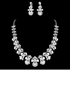 Gorgeous Alloy/Rhinestones Jewelry Sets (011016793)