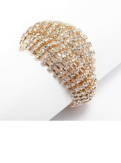 Alloy With Rhinestone Ladies' Bracelets (011033344)