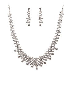Элегантные сплав с горный хрусталь женские Комплекты ювелирных изделий (011027599)