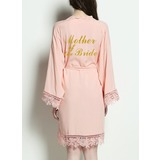 Cotton Mom Lace Robes Glitter Print Robes (248176070)
