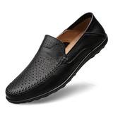 Мужская кожа Ботинок вскользь Men's Loafers (260209758)