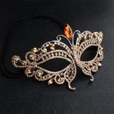 Smukke Legering Masker med Rhinsten/Crystal (042196924)