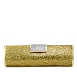 Charming Satin With Rhinestone Clutches (012051266)