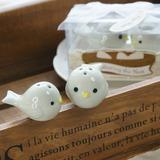 Ninho de pássaro Cerâmica Salt & Pimenta Abanadores com Fitas (Conjunto de 2 peças) (051005573)