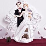 O Recém-casados Resina Casamento Decorações de bolos (122036161)