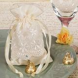 Lovely Bolsas de Ofertas com Rendas (conjunto de 12) (050019919)