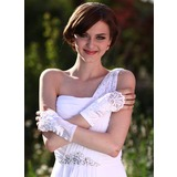 Elastic Satin Wrist Length Party/Fashion Gloves/Bridal Gloves (014013117)