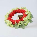 Nice Redondo/Atraente Flores Artificiais Decorações de Casamentos (131190911)