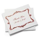 personalisé Style artistique Merci des cartes (Lot de 50) (114054954)