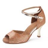Замша На каблуках Латино Обувь для танцев (053200545)