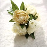 Colorful Silk Flower Decorations/Wedding Table Flowers - (123192855)