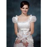 Aтласная локоть длина Свадебные перчатки (014020516)
