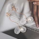 Lovely Alloy Imitation Pearls With Imitation Pearl Women's Fashion Earrings (137178066)