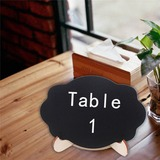 Eenvoudig Praktische Houten Decoratieve Accessoires/Schoolbord (131186070)