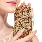 Prächtig Metall mit Strass Handtaschen/Wristlet Taschen (012016239)