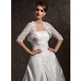 Half-Sleeve Lace Wedding Wrap (013012558)