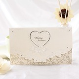 Stile Cuore Tri-Fold Invitation Cards (Set di 50) (114032375)