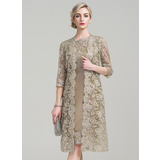 3/4-Length Sleeve Lace Special Occasion Wrap (013089167)