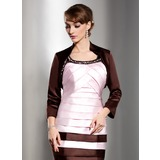3/4-Length Sleeve Satin Special Occasion Wrap (013014838)