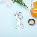 годовщина/день рождения цинковый сплав Открывалки для бутылок (набор из 4) (051205248)