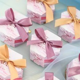 Creative Card Paper Favor Boxes & Containers With Ribbons (Set of 20) (050203427)