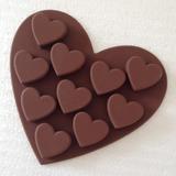 Coração deu forma Silicone Bolo Mould (051053244)