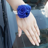 Cotton Wrist Corsage (Sold in a single piece) - (123182744)
