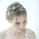 Classic Crystal/Rhinestone Headbands With Rhinestone/Crystal (Sold in single piece) (042192925)