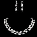 Lindo Liga/Strass com Pérola Mulheres Conjuntos de jóias (011017853)