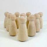 Clássico/Lovely De madeira Presentes Criativos (Conjunto de 10) (051179150)