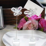 Butterfly Crystal Place Card Holders (Set of 2) (051024913)