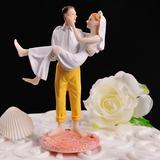 Estatueta Casal clássico Resina Casamento Decorações de bolos (119057801)
