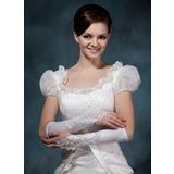Elastische Satin Elbow Lengte Bruids Handschoenen (014020495)