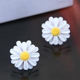 Flower Shaped Alloy Women's Fashion Earrings (Sold in a single piece) (137197148)