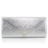 Zarte PU mit Metall Handtaschen (012060377)