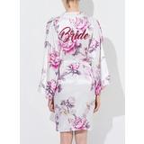 Bride Silk Floral Robes (248176072)